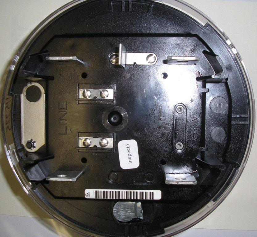 Itron CN1S Back Side general electric (ge) watthour meter (kwh), model i 210, 240 itron sentinel meter wiring diagram at reclaimingppi.co