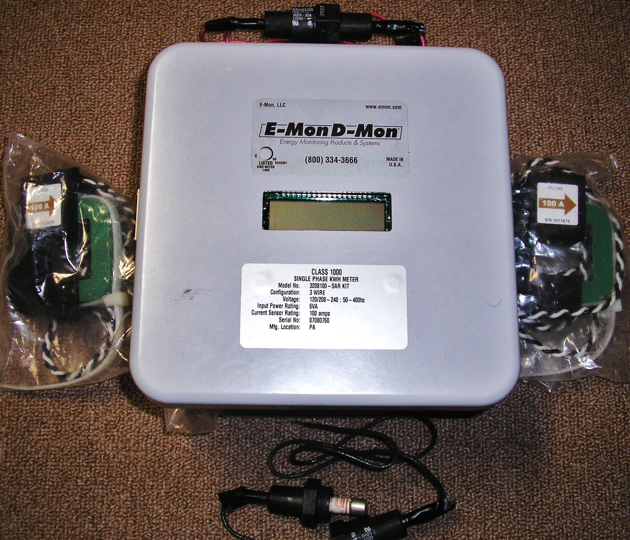 e mon used electric meters emon dmon wiring diagram at crackthecode.co
